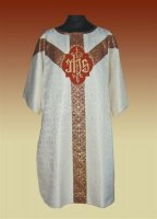 IHS Brocade Dalmatic from Veritas Polska