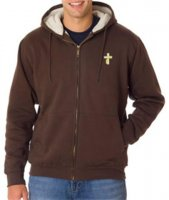 Deacon Sherpa-Lined Full-Zip Sweatshirt with Hood