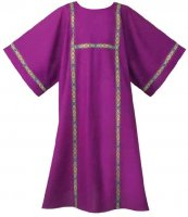 Paisley Galloon Dalmatic by Theological Threads Inc