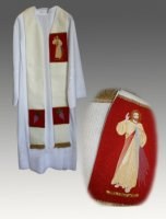 Divine Mercy Vestments - Overlay Stole