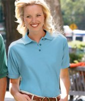 Clergy Wives & Women Clergy Easy Care Whisper Pique Polo