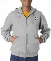 Deacon Hooded Full-Zip Sweatshirt