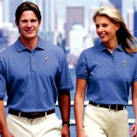 Deacon Wives Short Sleeve Polo - 100% Cotton Classic Pique