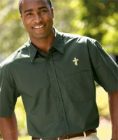 Deacon Short Sleeve Whisper Twill Shirt - S to 6XL