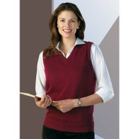 Clergy Wife & Women Clergy V-Neck Vest Heavy Duty Lo-Pil Acrylic