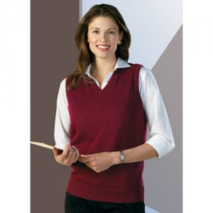 Clergy Wife & Women Clergy VNeck Vest 4X & 5X Heavy Duty Acrylic