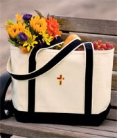 Women Clergy and Clergy Spouse 100% Cotton Tote