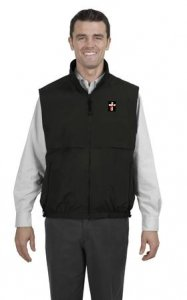Deacon Reversible TerraTek Nylon and Fleece Vest