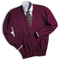 Deacon Cardigan - No Pockets, Heavy Duty Lo-Pil Acrylic