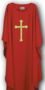 Latin Cross Chasuble by MDS