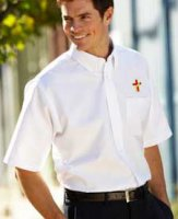 Deacon Short Sleeve Wrinkle-Free Oxford Shirt - S to 6XL