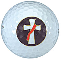 Deacon Cross Golf Balls - Set of Three