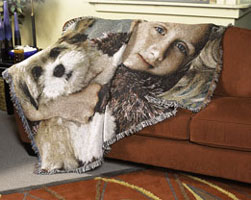 PictureWeave Blanket - An Heirloom Woven from your Photo