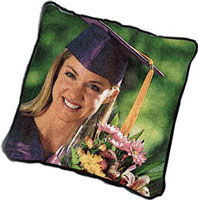 PictureWeave Pillow - An Heirloom Woven from your Photo