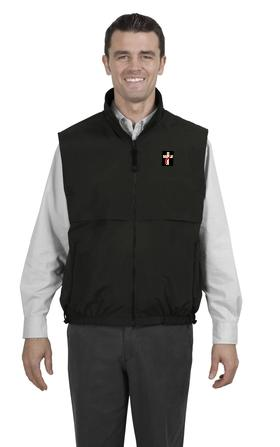 Deacon Reversible TerraTek Nylon and Fleece Vest - Click Image to Close