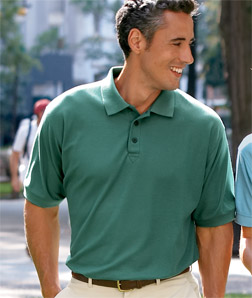 Deacon Short Sleeve Polo - Easy Care Whisper Pique